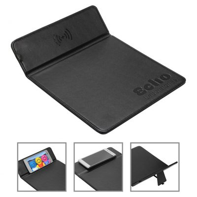 Accord Wireless Charger Mouse Pad with Kickstand