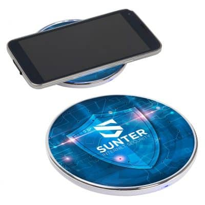 Matrix Light-Up 5W Wireless Charging Pad
