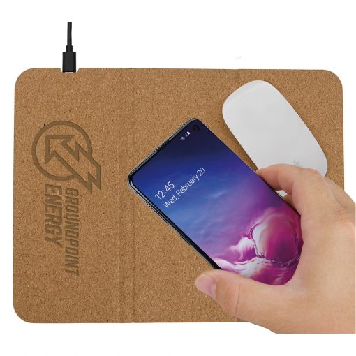 10W Good Value® Vite Wireless Charging Mousepad & Stand